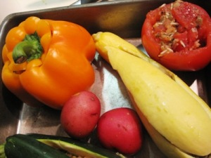 stuffed veggies, Sampoorna